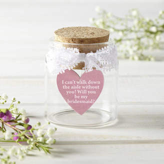Munchkin Creative 'Will You Be My Bridesmaid' Personalised Token