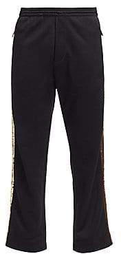 DSQUARED2 Men's Gym-Fit Sequin Side Track Pants