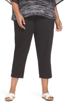 Eileen Fisher Straight Leg Organic Cotton Pants
