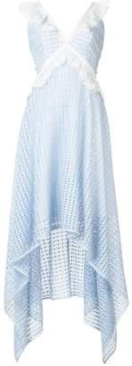Nha Khanh hi-low hem dress