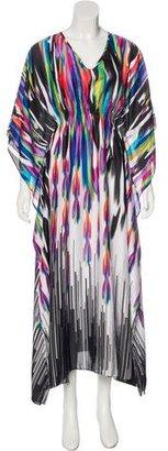 Natori Printed Maxi Dress w/ Tags