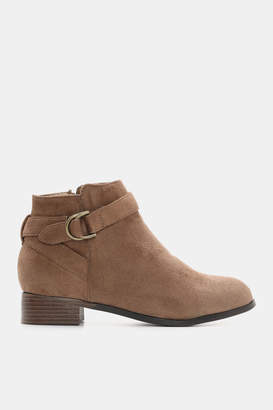 Ardene Faux Suede Ankle Boots