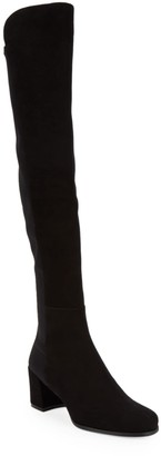 Stuart Weitzman Stand Suede Tall Boots