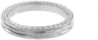 Cathy Waterman Triple Milgrain Ring - Platinum