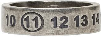Maison Margiela Silver Logo Ring