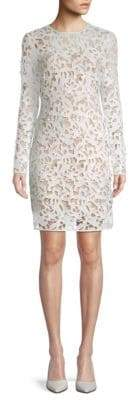 Alexia Admor 2-in-1 Base Layer and Lace Sheath Dress
