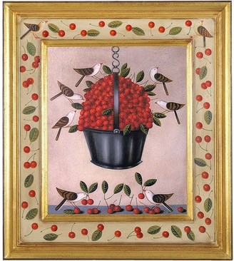 Bianchi Arte Oil on Canvas Cherries Painting