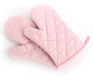 Lqchl 1Pcs Kitchen Heat Resistant Oven Gloves Mitts Home Cooking Bakeware Accessories Baking Supplies Slip-Resistant