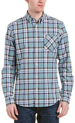 Ben Sherman Men's Longsleeve Tartan Gingham Shirt