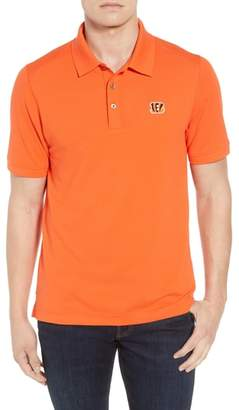 Cutter & Buck Cincinnati Bengals - Advantage Regular Fit DryTec Polo