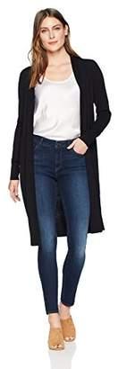 Lark & Ro Women's Long Sleeve Lightweight Long Cardigan Sweater
