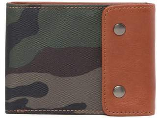 Fossil Ethan Snap Flap Bifold Wallet