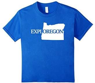 Explore Oregon Exploregon Map T-Shirt
