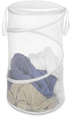 "Whitmor 15"" Collapsible Laundry Hamper White"