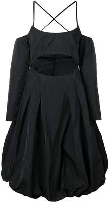 Marques Almeida Marques'Almeida flared loose dress
