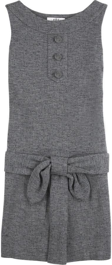 Tibi Round neck sleeveless dress