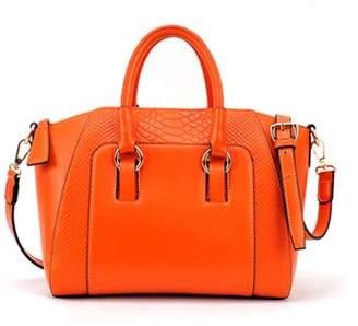 XY Fancy Women Tote Handbag Messenger Crocodile Embossed PU Leather Hobo Shoulder Bag Satchel