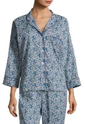 Sleepy Jones Marina Cotton Pajama Shirt
