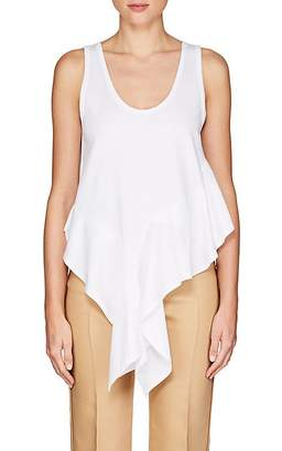 Chloé WOMEN'S COTTON JERSEY LAYERED TANK