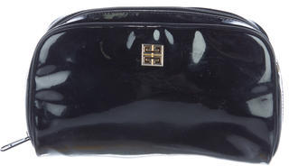 Givenchy Patent Leather Cosmetic Pouch