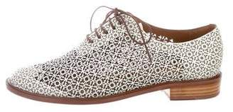 Rob-ert Robert Clergerie Jordan Laser Cut Loafers w/ Tags