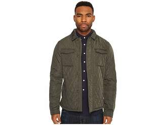 Scotch & Soda Lightweight Quilted Shirt Jacket in Nylon Quality Men's Coat