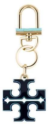 Tory Burch Logo Clasp Keychain