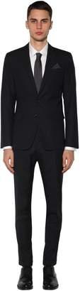 DSQUARED2 Paris Striped Wool Suit