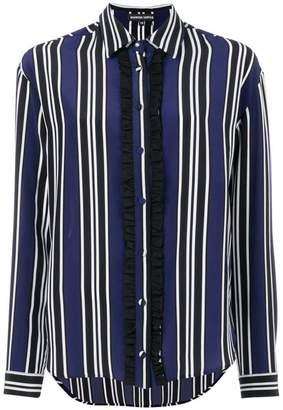 Markus Lupfer striped ruffle shirt