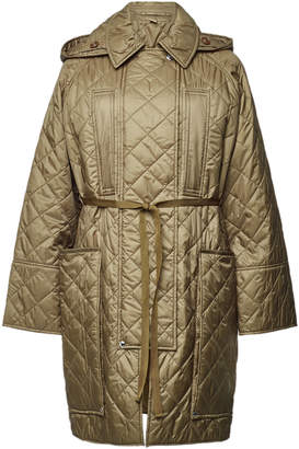 Burberry Quilted Coat