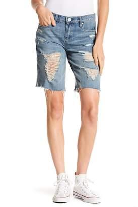 Blank NYC BLANKNYC Denim Destroyed Long Shorts