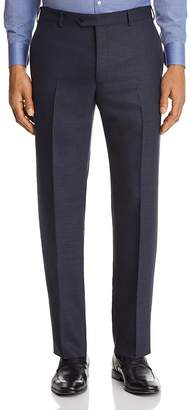 Emporio Armani Micro Check Classic Fit Dress Pants