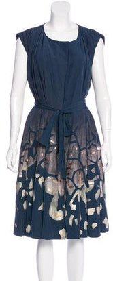 Rachel Roy Embellished A-Line Dress $80 thestylecure.com
