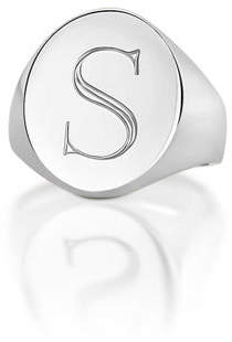 Sarah Chloe Monogrammed Pinky Signet Ring $108 thestylecure.com