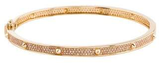14K Diamond Spike Bracelet