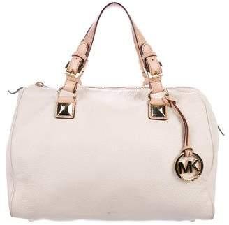 MICHAEL Michael Kors Grained Leather Handle Bag