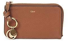 Chloé Women's Alphabet Leather Zip-Around Wallet