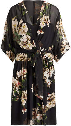 Ralph Lauren Floral V-Neck Dress