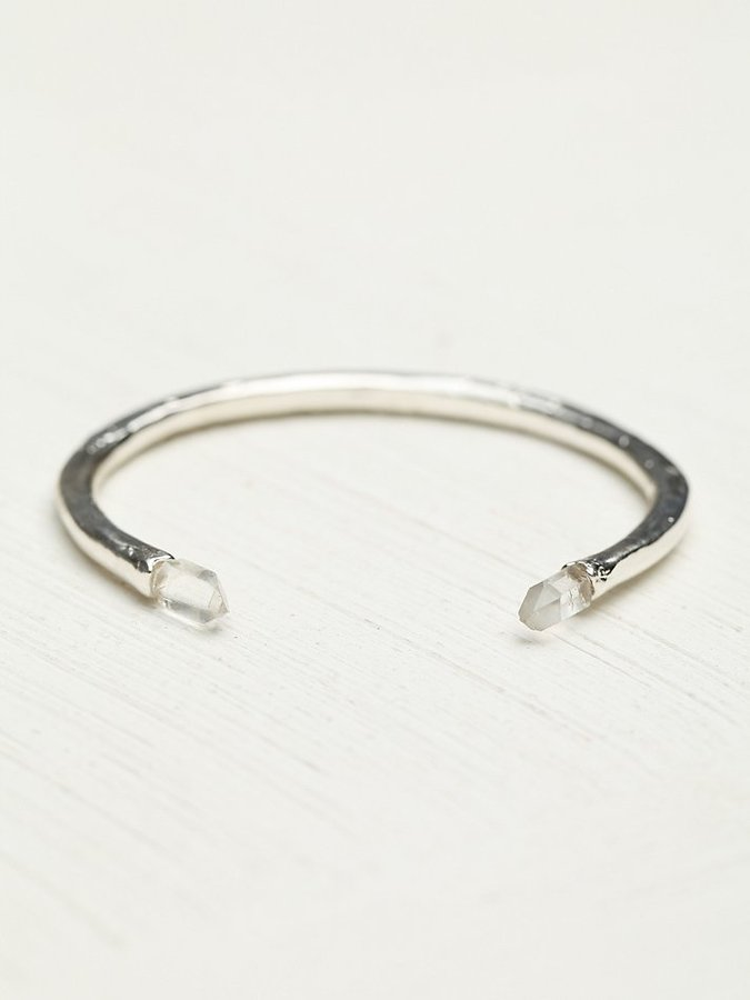 Free People Beso Beso Veronica Crystal Cuff