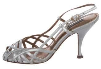 Dolce & Gabbana Caged Slingback Sandals