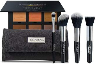 Aesthetica Cosmetics Contour Series Tan to Dark Powder Contour Kit