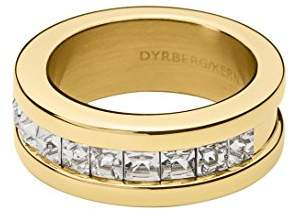 Dyrberg/Kern Women Stainless Steel Princess Cut