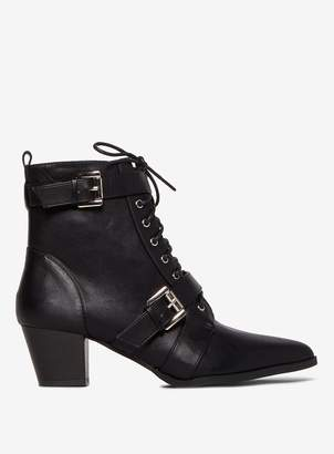 Dorothy Perkins Womens Black 'Amaddox' Ankle Boots