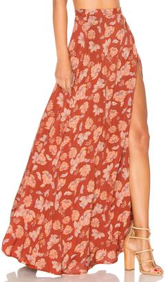ale by alessandra x REVOLVE Brigida Maxi Skirt $188 thestylecure.com