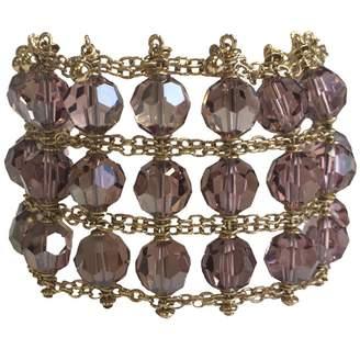 Swarovski Gold Metal Bracelet