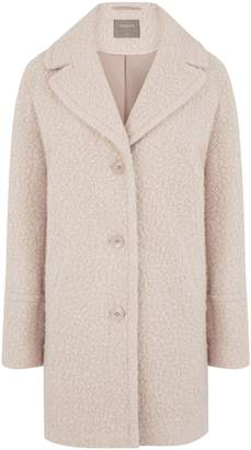 Next Womens Oasis Natural Bouclé Teddy Coat