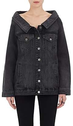 Robert Rodriguez Women's Wide-Collar Denim Jacket