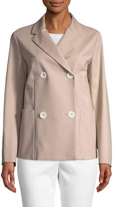 Piazza Sempione Double-Breasted Jacket
