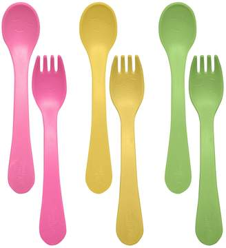I Play Green Sprouts by 6-pk. Sprout Ware Fork & Spoons