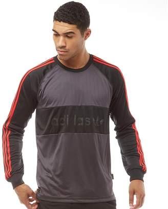 adidas Mens Goalie Jersey Black/Utility Black/Scarlet